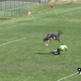 Columbine acrobatic goal