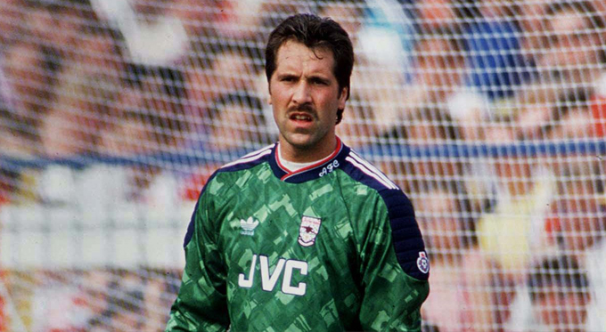 David Seaman Arsenal 1991